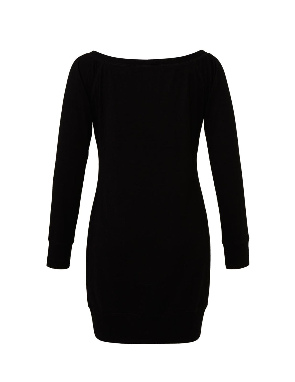 Black Lightweight Sweater Dress with white love will save graphic for 55.00 at ARMY PINK