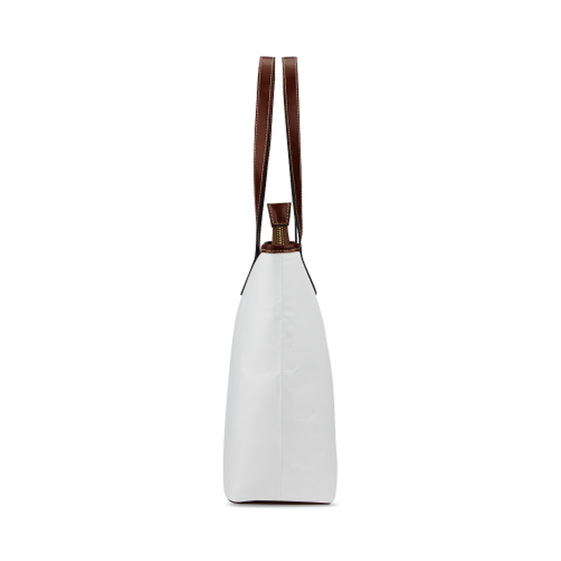 White best life Tote Bag for  at ARMY PINK
