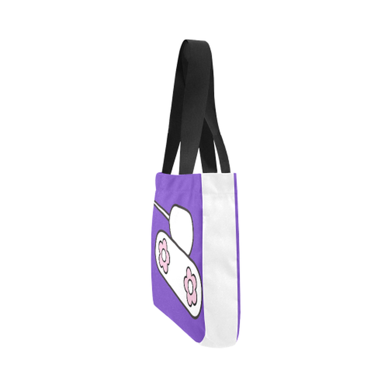 Purple tank Canvas Tote Bag for  at ARMY PINK