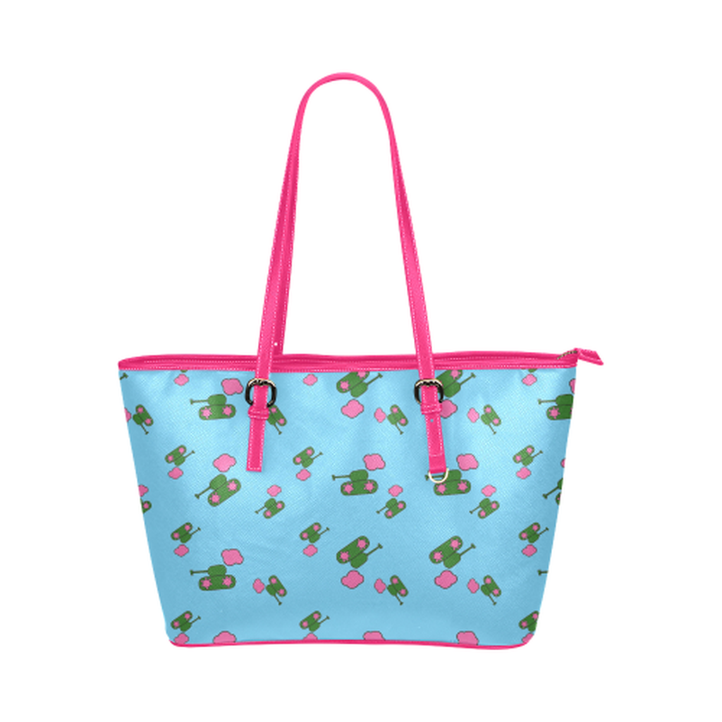 Blue tank cloud Tote Bag for  at ARMY PINK
