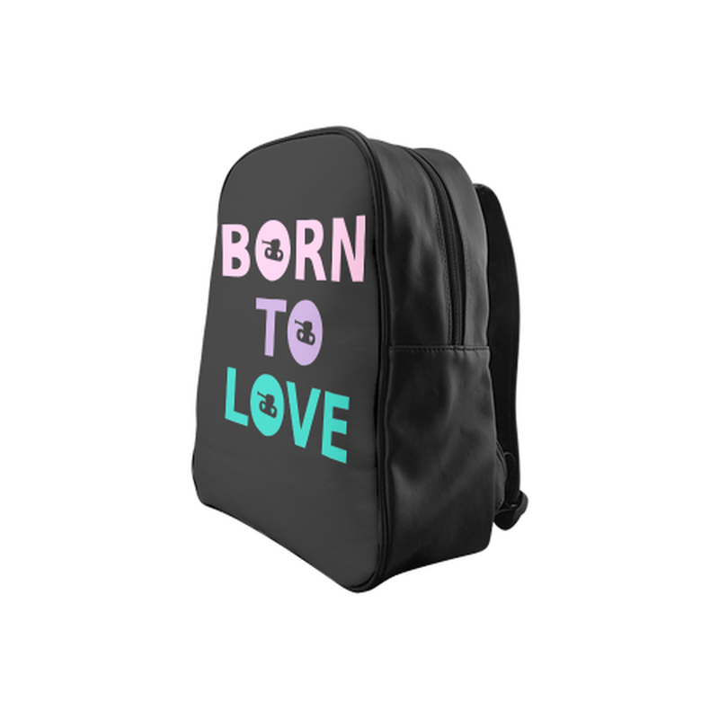 Pastel born to love Backpack for  at ARMY PINK