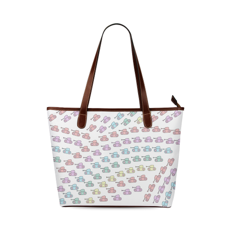 Pastel rainbow tank Tote Bag for  at ARMY PINK