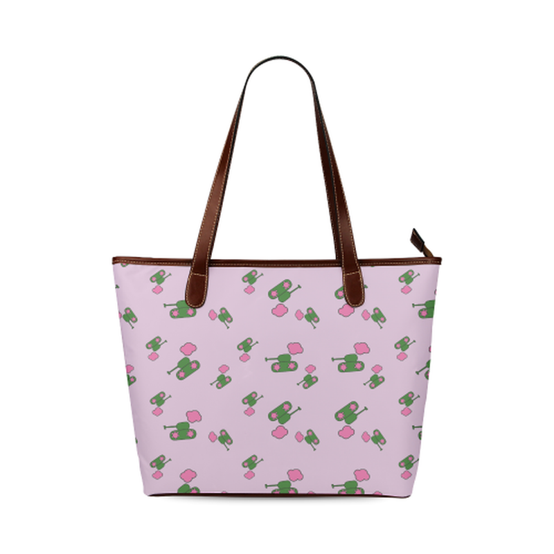 Pink tank cloud Tote Bag ${product-type) ${shop-name)