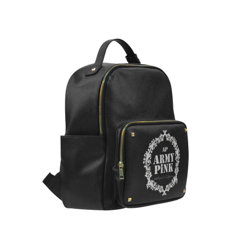 Gray wreath on black Campus backpack/Small (Model 1650) for  at ARMY PINK