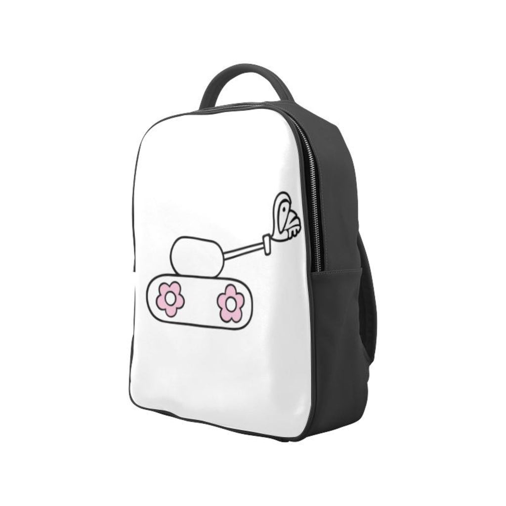 White love tank Backpack for  at ARMY PINK