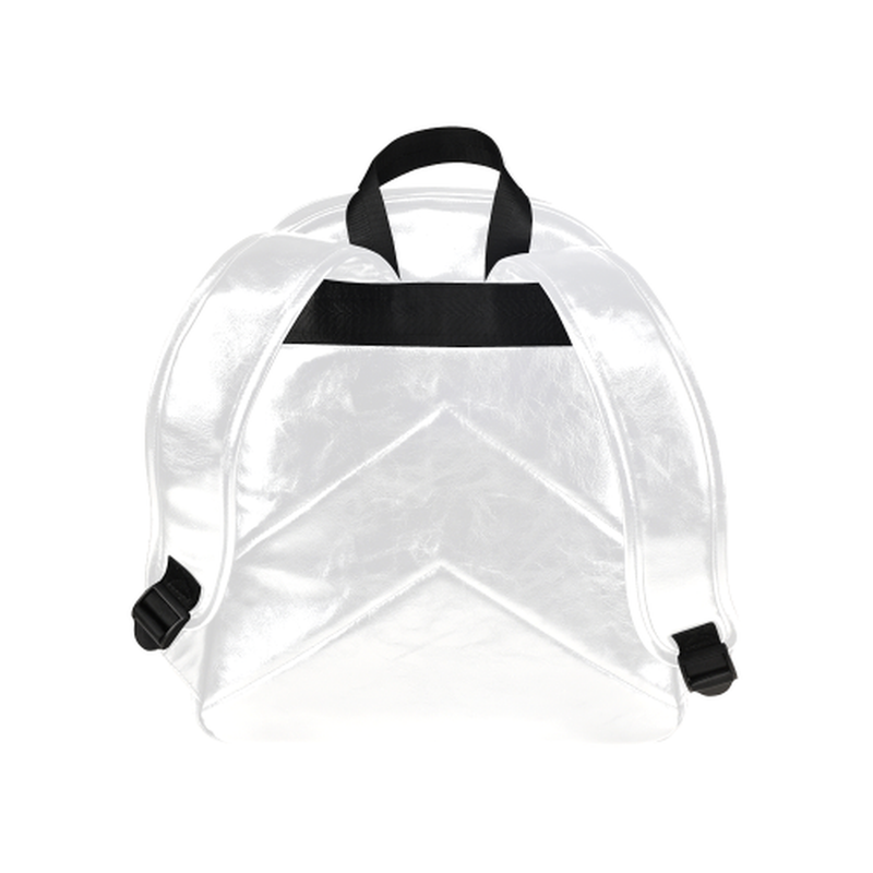 White stamps on mint Multi-Pockets Backpack (Model 1636) ${product-type) ${shop-name)