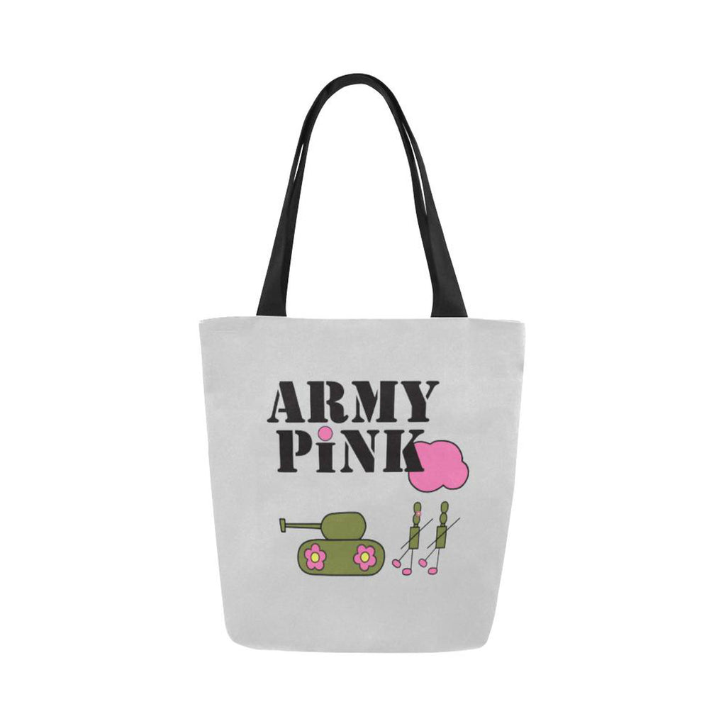 Logo on gray for  at ARMY PINK