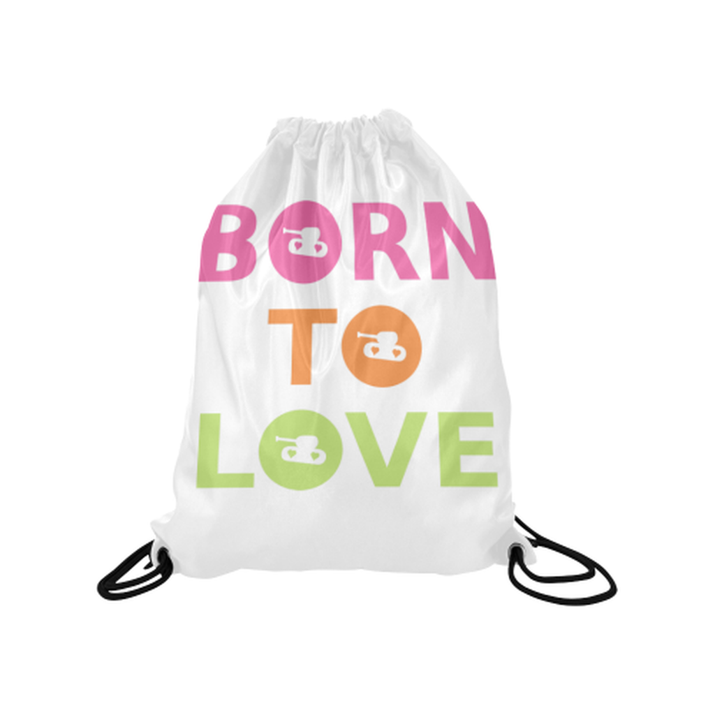 Bright born to love Drawstring Bag for  at ARMY PINK