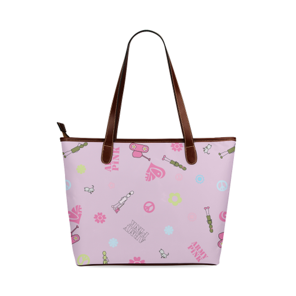 Pink logo Tote Bag for  at ARMY PINK