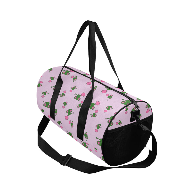 Pink Tank Print Duffle Bag for  at ARMY PINK