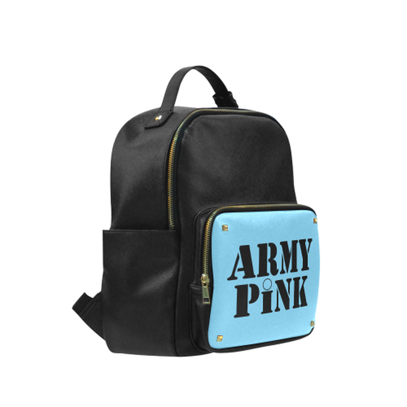 Army Pink on Blue Campus Backpack for  at ARMY PINK