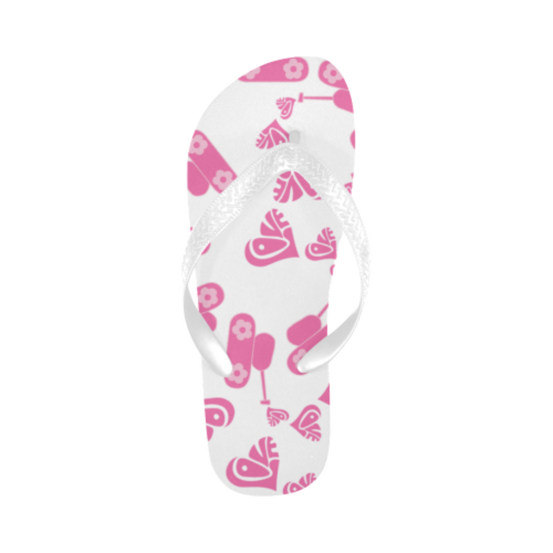 Love tanks white Flip Flops for 16.00 at ARMY PINK