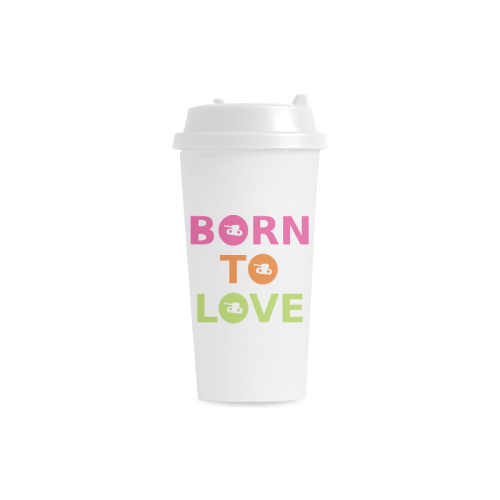 Promo Double Wall Plastic Mug for  at ARMY PINK