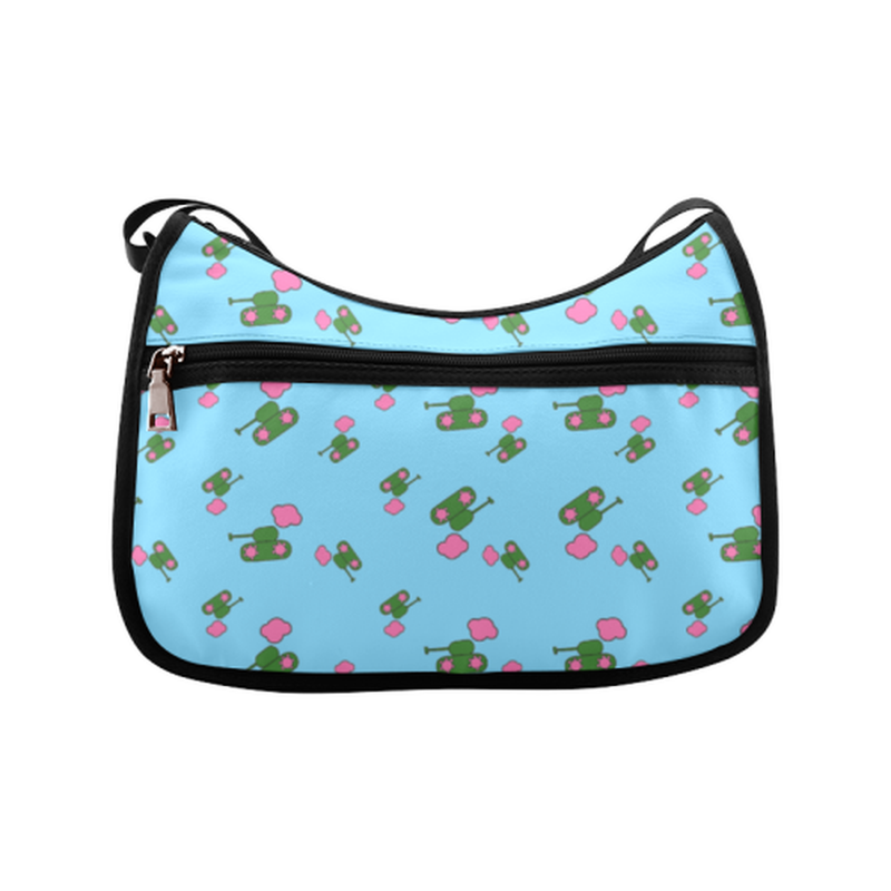 Blue tank cloud Crossbody Bag for  at ARMY PINK