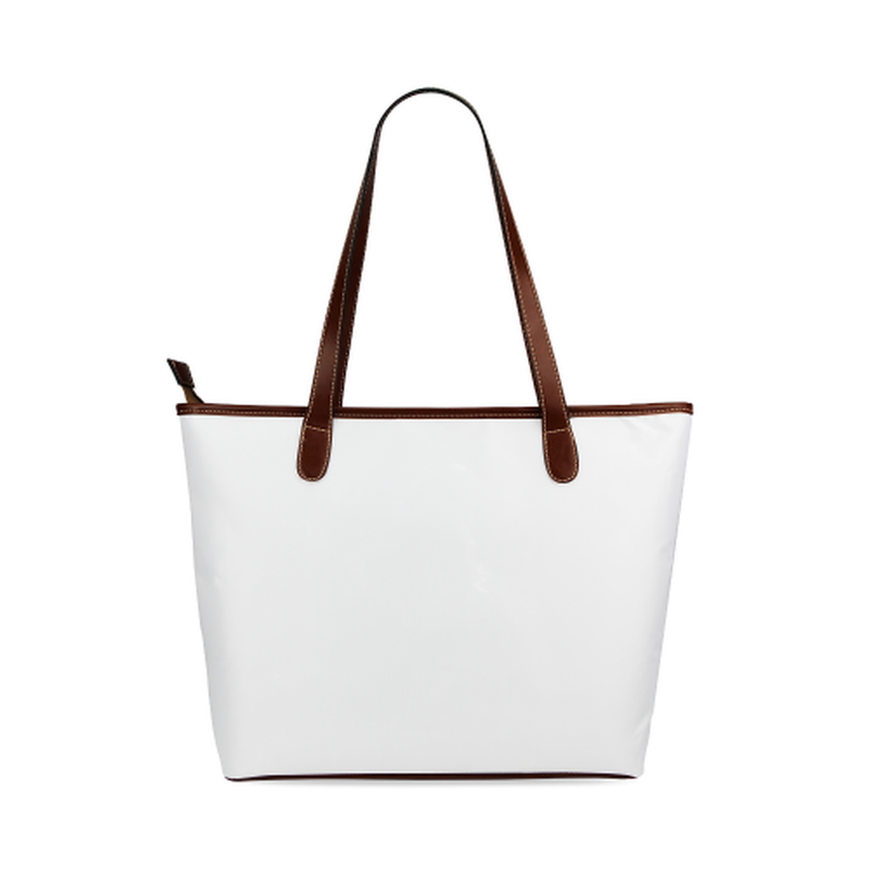White AP logo Tote Bag for  at ARMY PINK