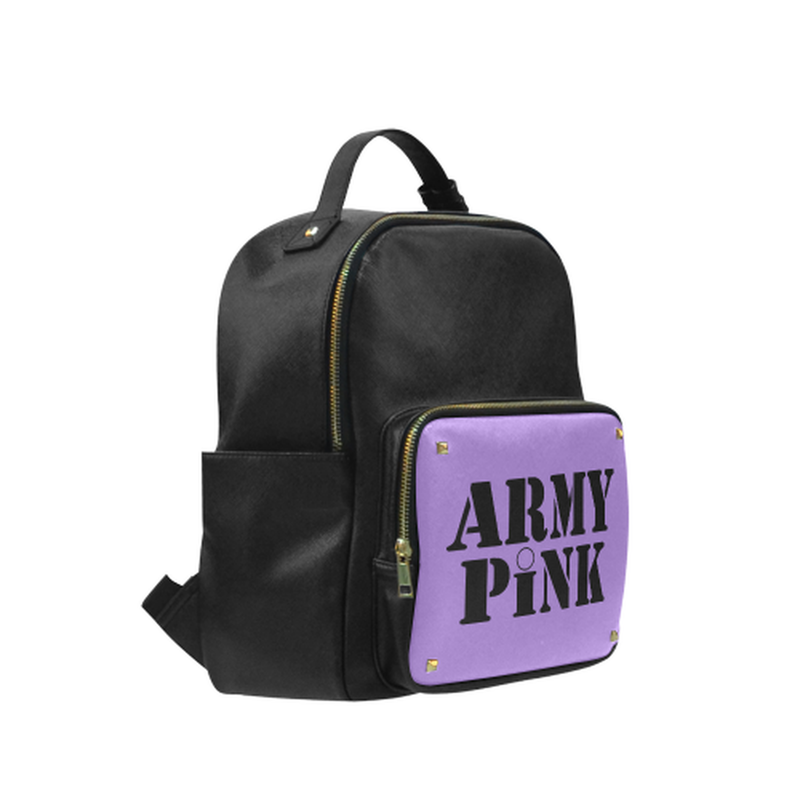 Army Pink on Purple Campus Backpack ${product-type) ${shop-name)