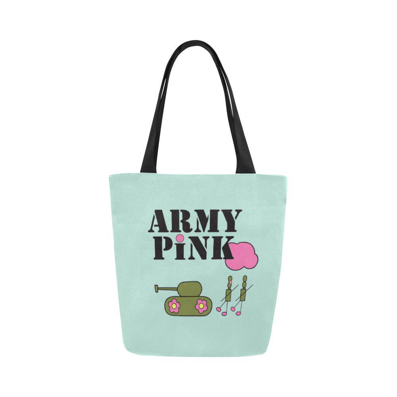 Logo on mint for  at ARMY PINK