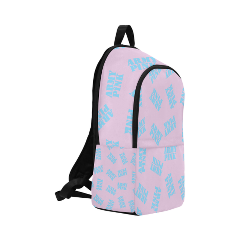 Blue stamps on violet Fabric Backpack for Adult (Model 1659) for  at ARMY PINK