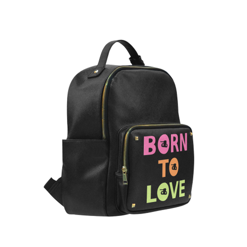 Born to Love on black Campus backpack/Small (Model 1650) for  at ARMY PINK