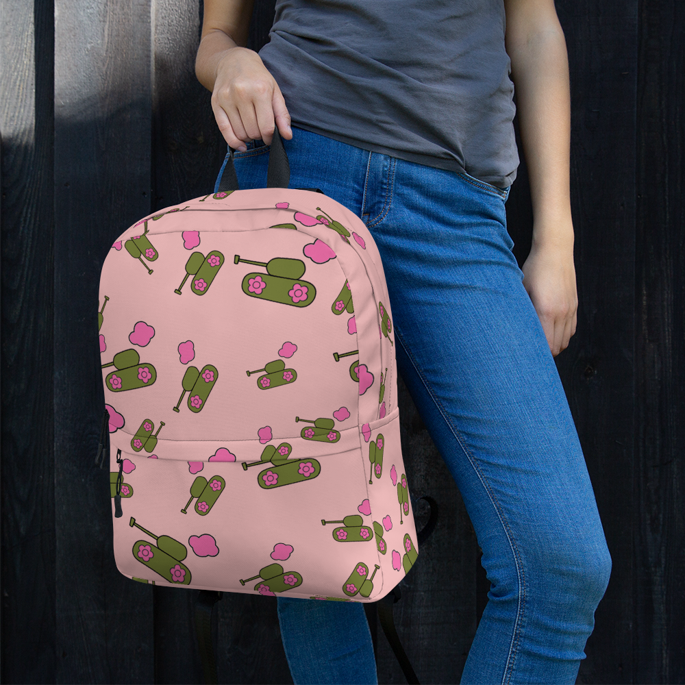 Pink Tank-Cloud Backpack for  at ARMY PINK