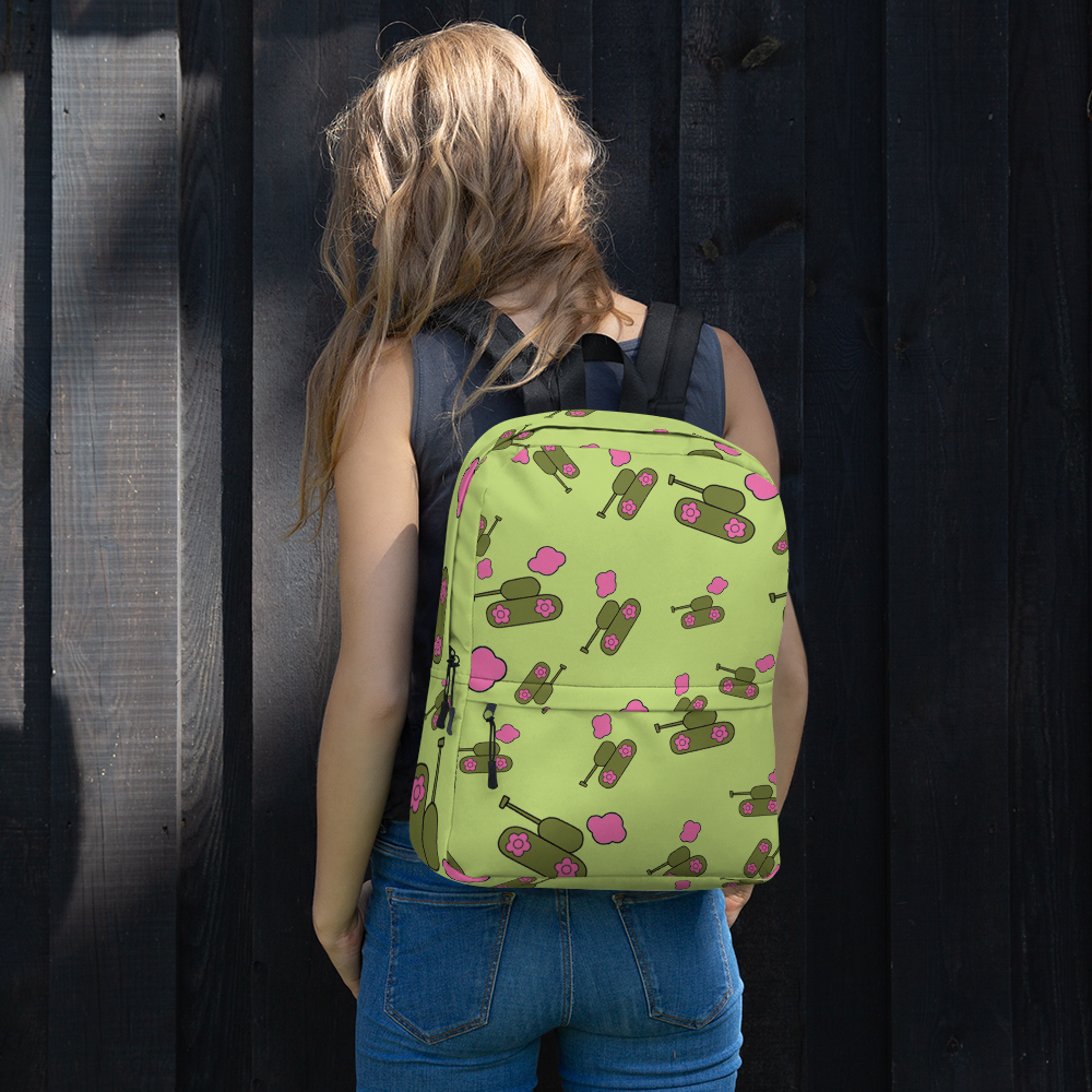 Green Tank-Cloud Backpack for  at ARMY PINK
