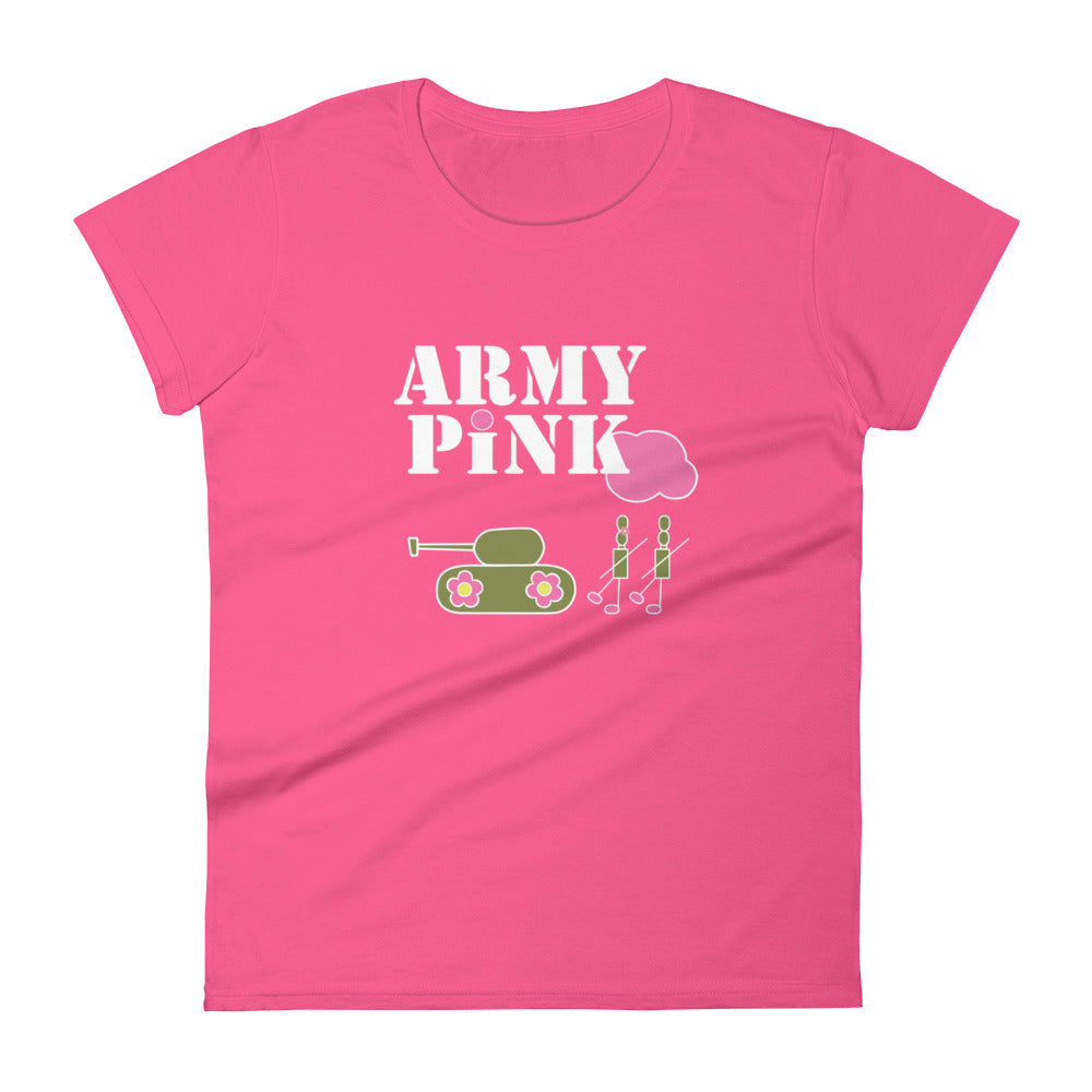 Logo short sleeve t-shirt for 24.00 at ARMY PINK