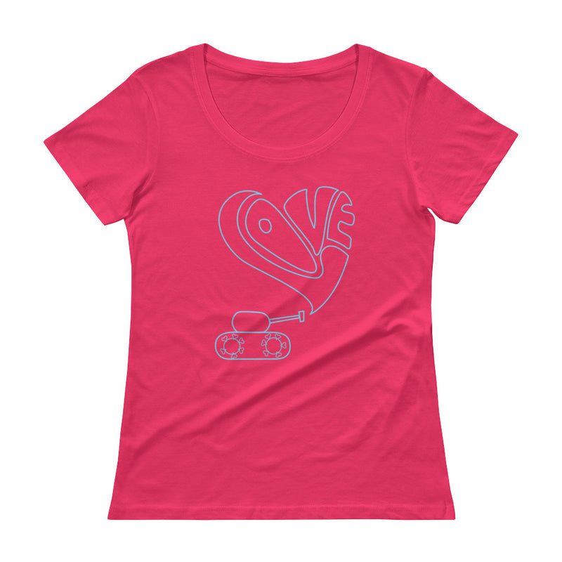 Love tank Scoopneck T-Shirt for 28.00 at ARMY PINK