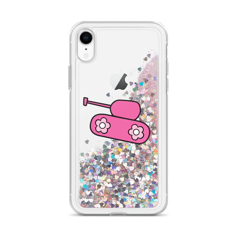Pink Tank Liquid Glitter iPhone Case for 20.00 at ARMY PINK