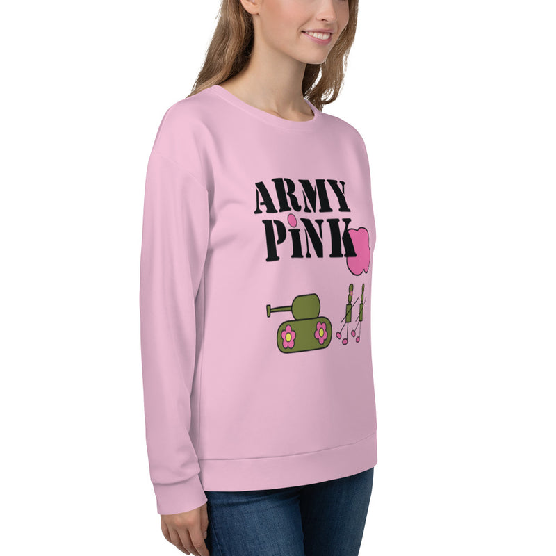 Army Pink Sweatshirt for 48.00 at ARMY PINK