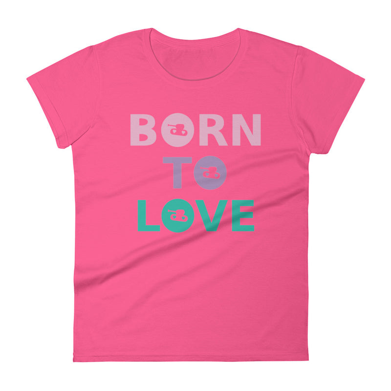 Born To Love t-shirt for 24.00 at ARMY PINK