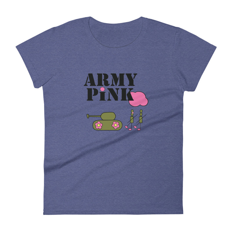 Blue Logo short sleeve t-shirt for 24.00 at ARMY PINK
