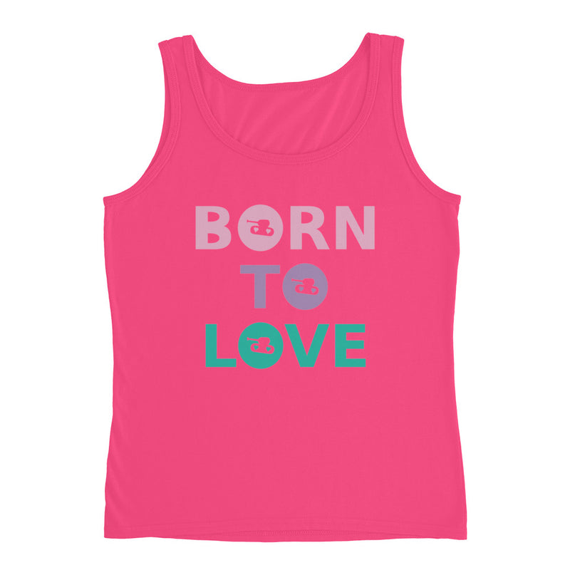 Born To Love Tank Top for 22.00 at ARMY PINK