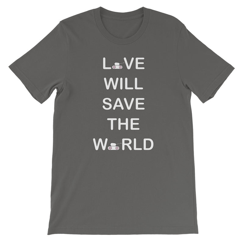 Love Will Save Unisex T-Shirt for 24.00 at ARMY PINK