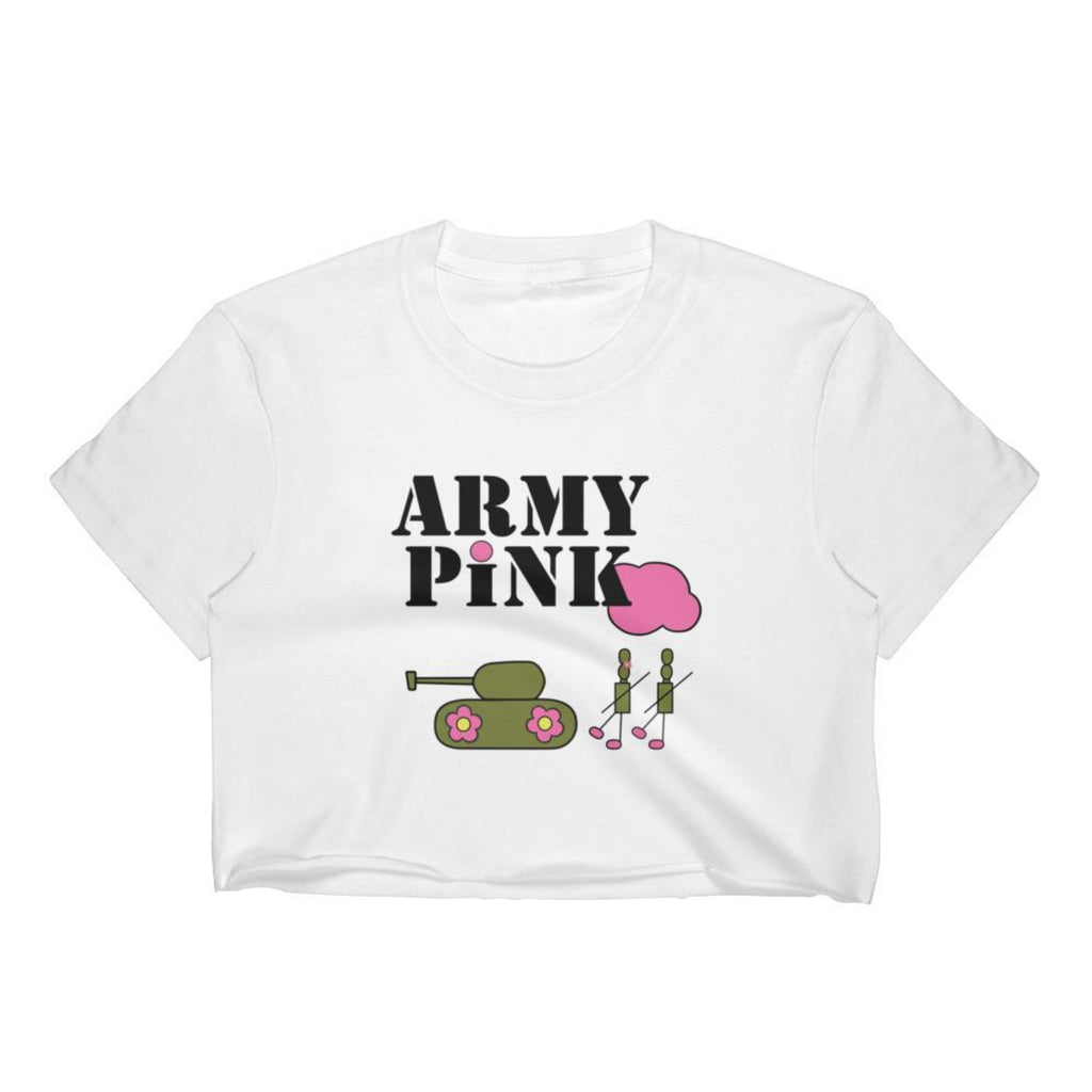 Army Pink crop top for 24.00 at ARMY PINK