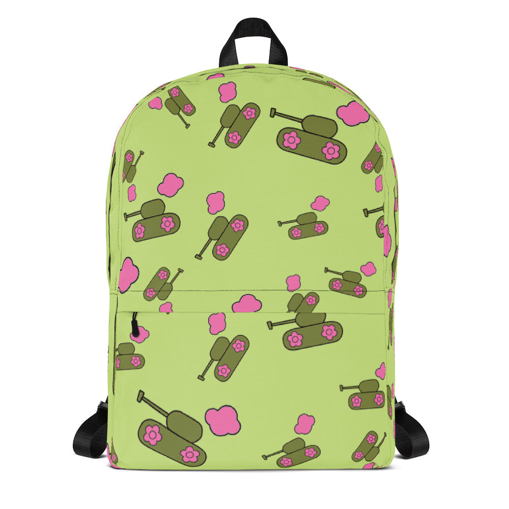 Green Tank-Cloud Backpack for 44.00 at ARMY PINK