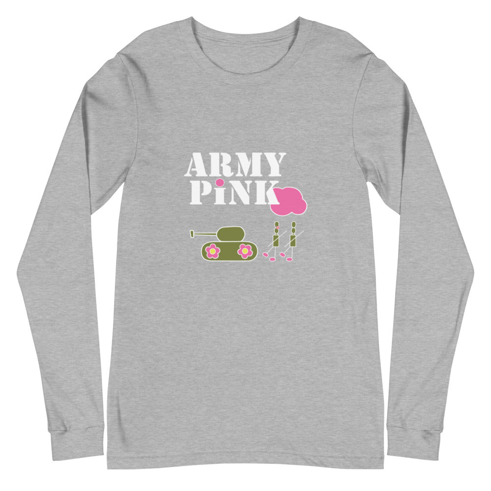 Army Pink long sleeve t-shirt for 28.00 at ARMY PINK