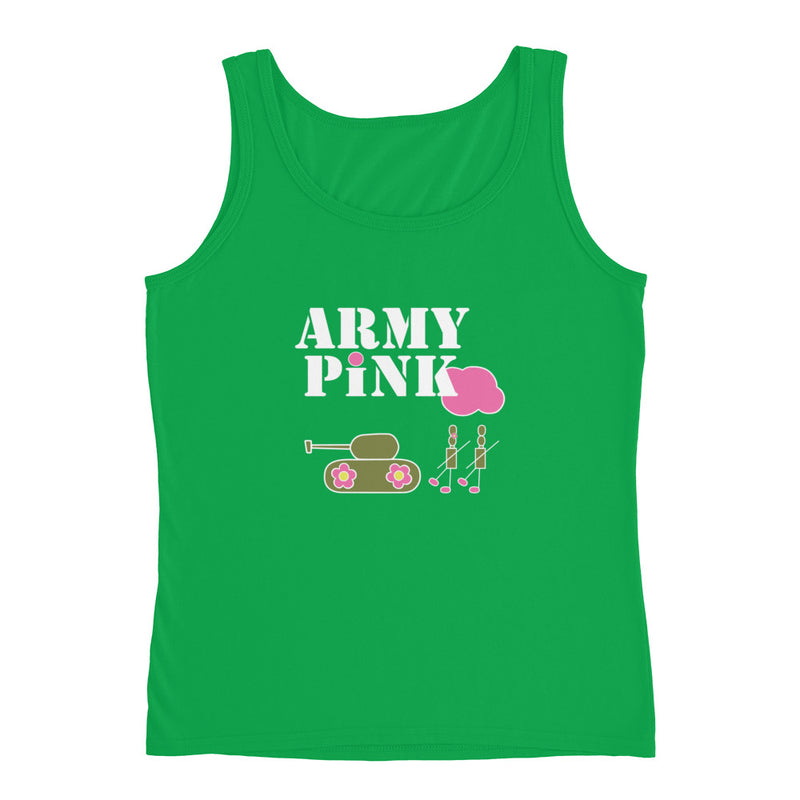 Logo Tank Top for 22.00 at ARMY PINK