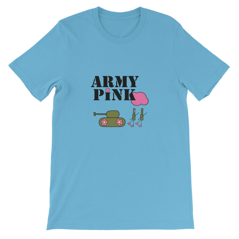 Logo Unisex T-Shirt for 24.00 at ARMY PINK
