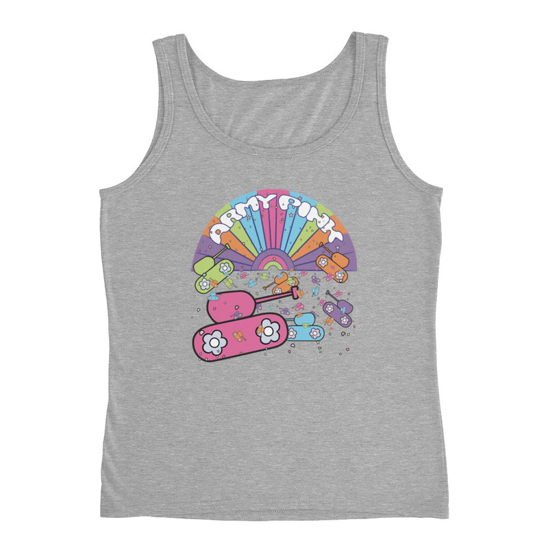 Tank Top with sunshine graphic for 28.00 at ARMY PINK