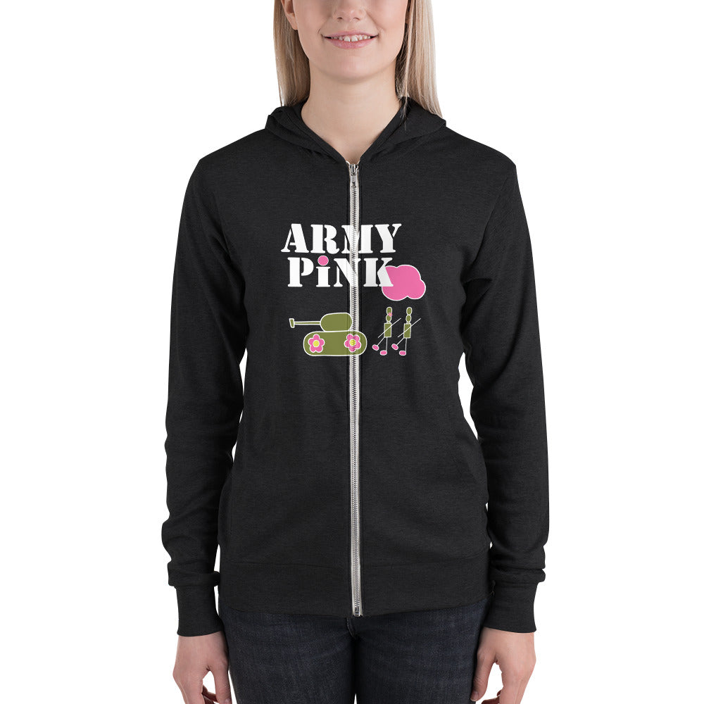 Army Pink Hoodie for 40.00 at ARMY PINK