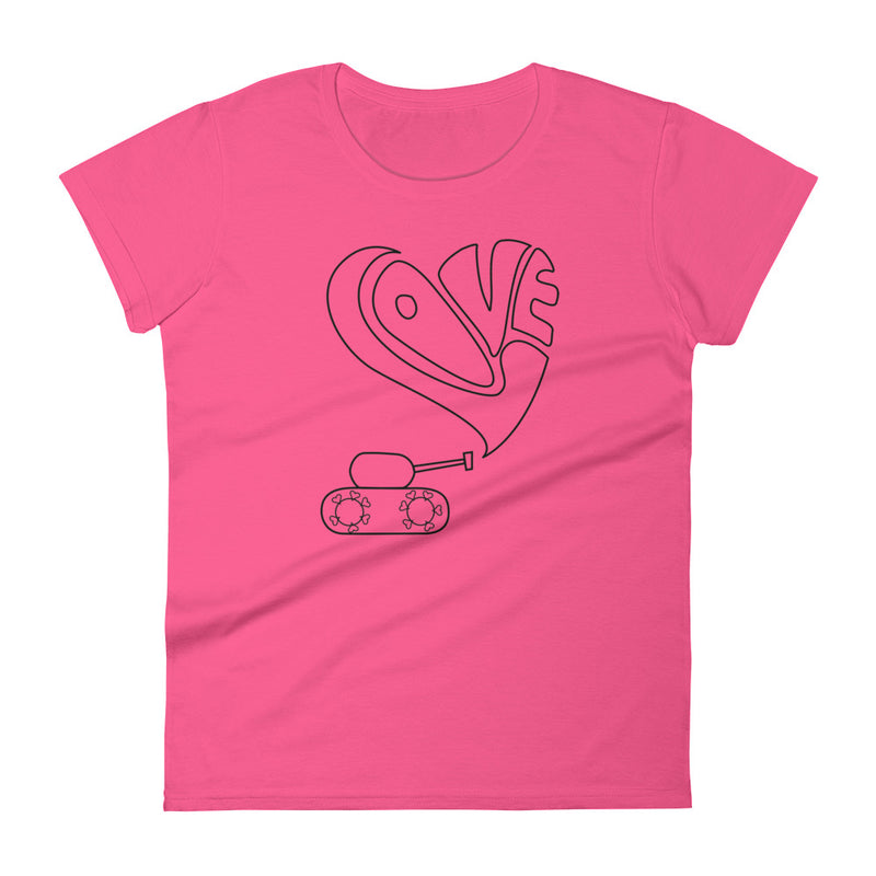 Love Tank short sleeve t-shirt for 24.00 at ARMY PINK