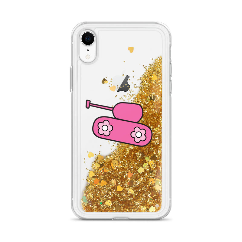 Pink Tank Liquid Glitter iPhone Case0 for 22.00 at ARMY PINK