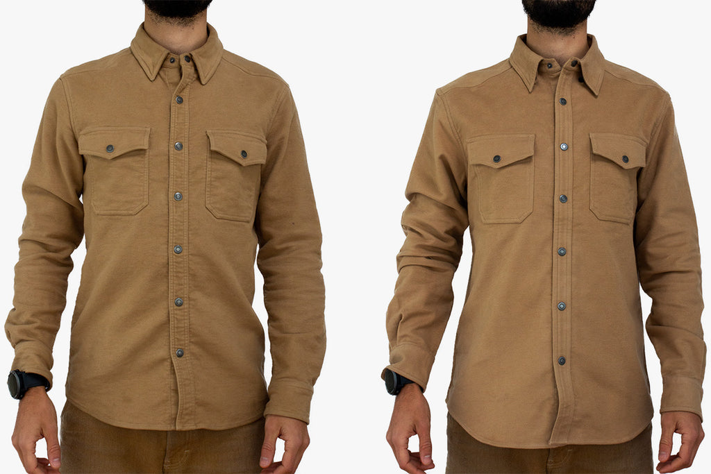 Kirsch Supply Co The Cody Western Style Moleskin Shirt