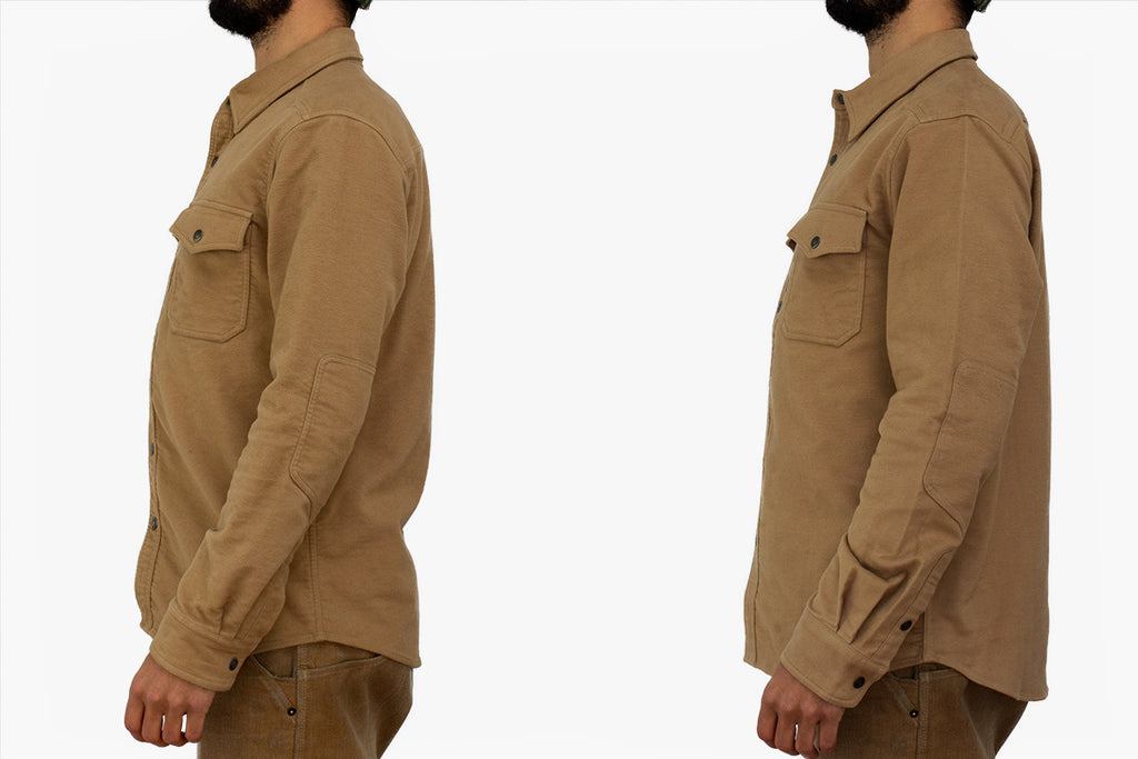 Cody Moleskin Shirt Fit Guide