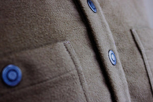 Kirsch Supply Co Rivet Moleskin Popover Shirt