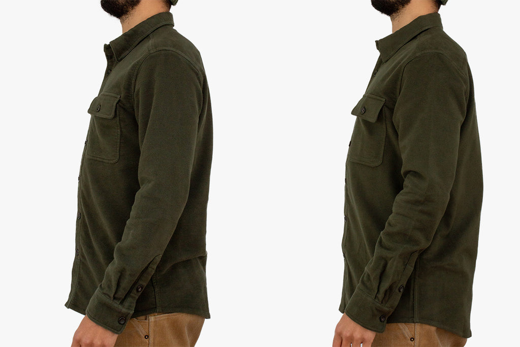 Fit Guide Plains Stretch Moleskin Shirt