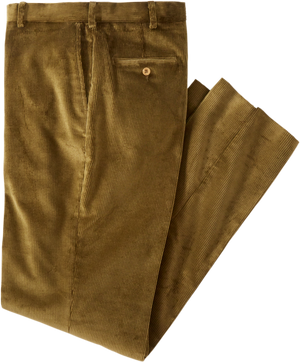 Kirsch Supply Co English Stretch Corduroy Pant Olive Drab Front