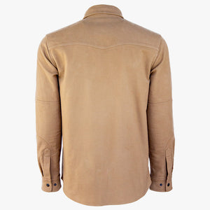 Kirsch Supply Co Cody Western Style Moleskin Shirt Back