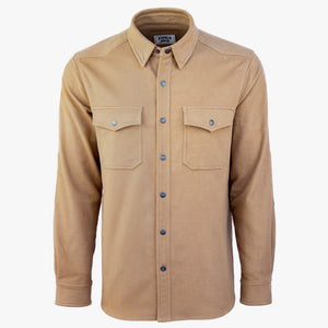 Kirsch Supply Co Cody Western Style Moleskin Shirt Front