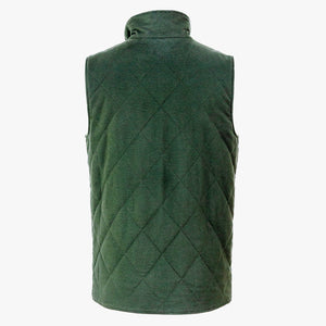 The Dependable Flannel Lined Moleskin Vest Back